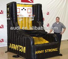 Inflatable Basketball Toss/Basketball Shoot/TBall zone Games