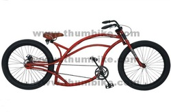 Beach Cruiser Frame Disc Brake Chopper Bicycle