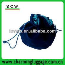 high quality fancy drawstring velvet gift bag for wholesale