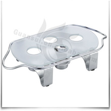 glass coffee warmer with candle