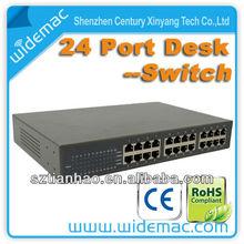 24-port 10/100M Ethernet Switch steel case(TH-1024D)
