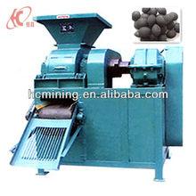 Small lower price four roller Coal dust briquette press machine