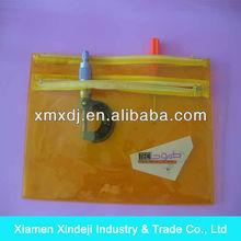 Customized practical PVC double zipper bag double bag XDJ-D022