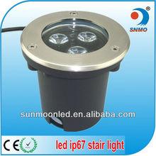 3w 6w 9w ip67 in ground led lights 12v
