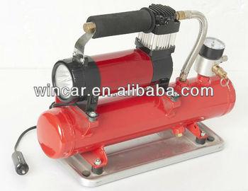12V air compressor with tank for auto tire