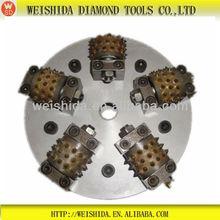 2013 new hand tools rotary bush hammer plates diamond tools