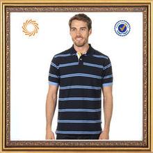 man polo shirt white and blue stripe