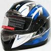 2014 cool motorcycle helmets custom full face helmets double visor helmets JX-FF001
