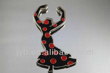 Beautiful dancing keychain for souvenir