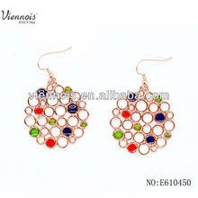 Fashion Jewelry gold earrings new model 2013