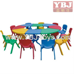 YBJ hot sell kids table and chair