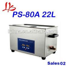 New arrival! Wholesale universal water proof & stainless 22L PS-80A Ultrasonic Cleaner Smart & User-friendly
