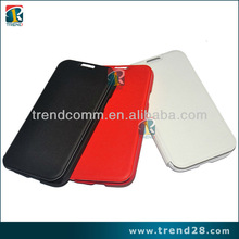 key leather case for samsung galaxy s4 with vertical stripes sides design