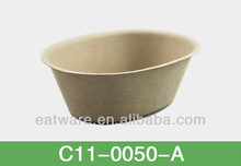 Snack Bowl Biodegradable Disposable Bamboo Fiber Tableware