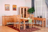 Solid oak modern dining room furniture/dining room sets /909