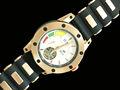 2015 homem relógio esqueleto automático relógio tourbillon mecânica relógio presentes de aniversário para os homens