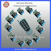 hot sale 12 in 1 universal remote control receiver