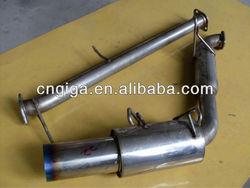 "Catback Exhaust Midpipe 4"" Tip Muffler Mazda Miata MX5 89 - 98 1.6L 1.8L"