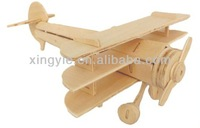 3d wooden new ariplane toys for 2013