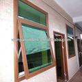 Venta caliente HUIWANJIA estilo europeo de aluminio toldo ventana