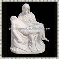 pedra de mármore de saint la pieta estátua estátua religiosa
