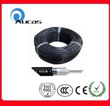 Waterproof 12 core single mode fiber optic GYXTW central loose tube armored aerial cable