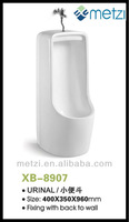 floor free standing mens urinal