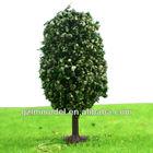Green Model Tree Egg Shape HO Scale for Train Layout OL40/OL55/OL70/OL90