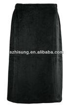 Supfer Soft Fleece Mens Bath Skirt