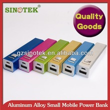 SINOTEK 2200mah USB UNIVERSAL BATTERY TUBE. POWER CONTAINED IN ALUMINIUM CASE. EASY TO USE NEW