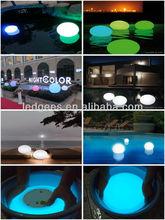 led moon light ball/disco ball with color flashing