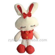 plush toys Supplier 2014 plush bunny rabbit toy best Plush Easter Gift Rabbit