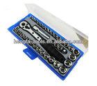 38pcs box spanner socket set