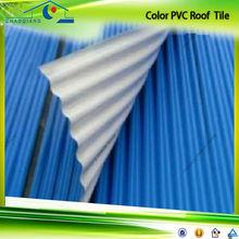 2014 new design soundproof light currugated pvc roofing tile for sale