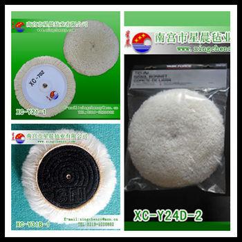 wool polishing pad, wool buffing pad