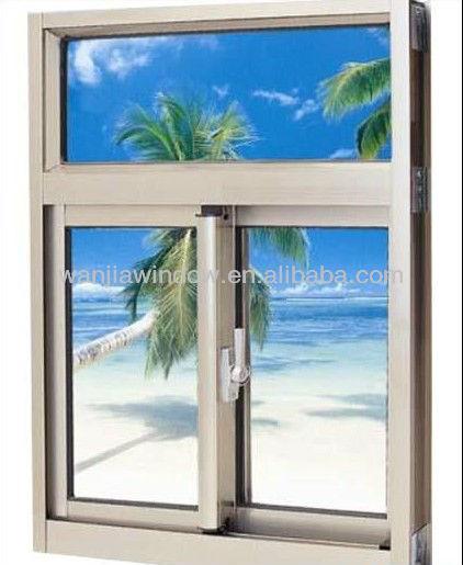 ventana corredera de aluminio de la ventana de aluminio de materiales para la fabricación