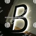 3D LED backlit carta sinalização, Sinais logotipo, O nome da empresa logotipo