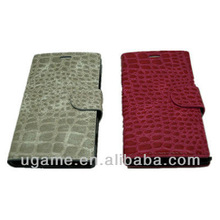 newest Wallet flip, Crocodile ,magnet closure Leather Case for nokia Lumia 930
