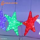 D:30cm 3D led lighted stars