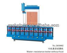 water resistant tester without fluid for watch factories
