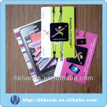 2012 hot sale adhesive sticky mobile phone screen cleaner