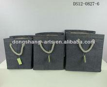 Jean fabric handmade laundry bags