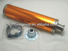 universal exhaust muffler 125-250CC 100X420mm M014 gold
