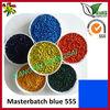 Plastic raw material masterbatch blue
