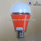 Various selections 5w 220V orange LED LAMP BULB