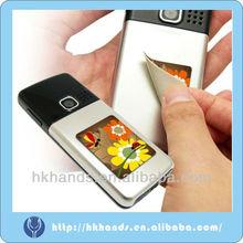 Magic microfiber screen self adhesive cleaner