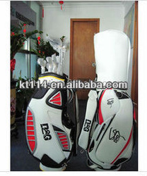 Hot Saling delicate B&G brand leather golf bag