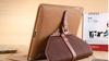 For Ipad mini protective leather Rotary case with belt buckle /leather case for ipad mini