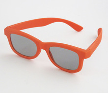 active promotional linear polarized 3d glasses plastic circular