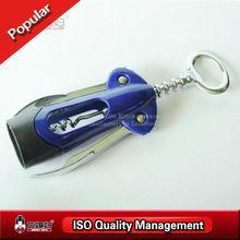 Ergonomic helpful tools metal wine bottle opener